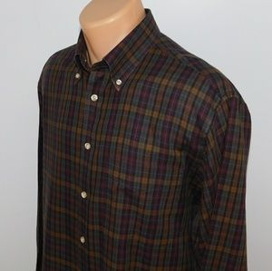Orvis long sleeve button down shirt.  M